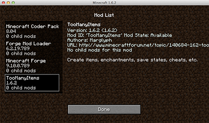 How to install Minecraft Mods (1)