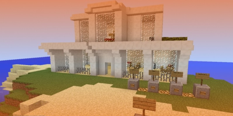 Automatic House Map For Minecraft 1 10 2 1 9 4 Minecraft Mod Download