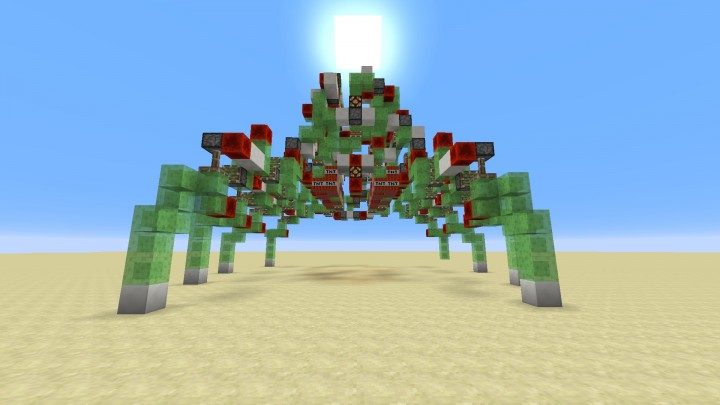 Controllable Spider Robot Map For Minecraft 1 8 - Minecraft
