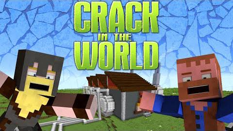 Crack in the World Adventure Map for Minecraft 1.8.8 - Minecraft mod