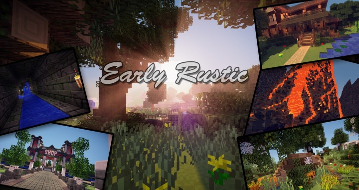 Early Rustic Resource Pack for Minecraft 1 8 9 - Minecraft mod download
