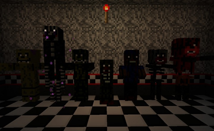 Five Nights at Freddy's 3 Resource Pack 1 8 9 - Minecraft