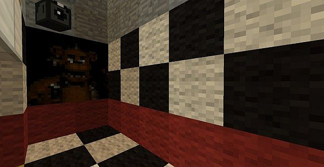 Five Nights at Freddy's Multiplayer Map for MC [1 8 8] - Minecraft
