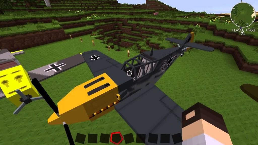 MC Helicopter — мод на вертолет для Minecraft 1.7.10/1.7.2 ...