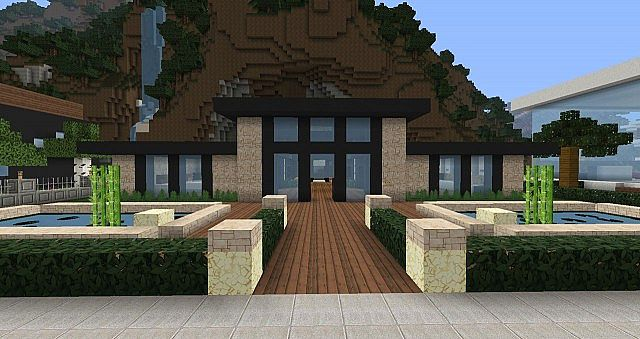 Flows hd texture pack 1 9 1 8 9 minecraft mod for Maison moderne minecraft xbox one