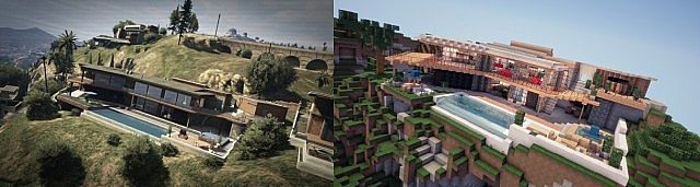 Gta V Franklin S Pad Map For Minecraft Minecraft Mod Download