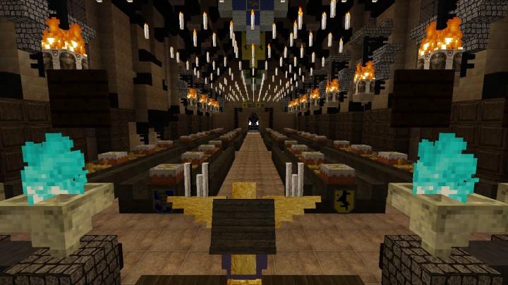 Hogwarts Resource Pack for Minecraft 1 9 4 - Minecraft mod