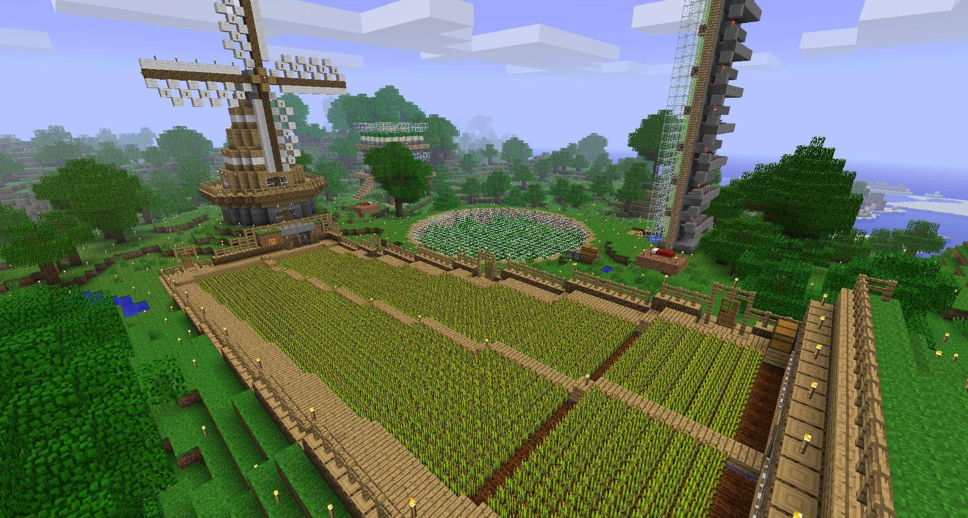Industrial Craft Automatic Tree Farm