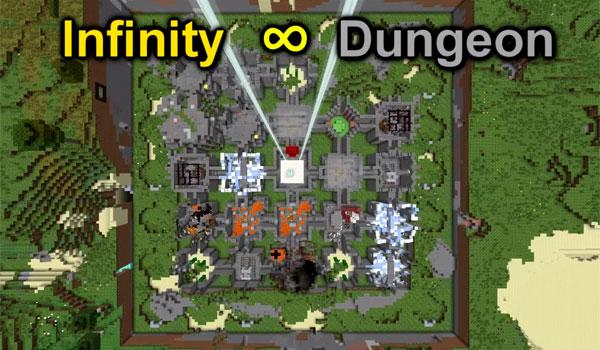 Infinity Dungeon Map for Minecraft [1 9 4/1 8] - Minecraft