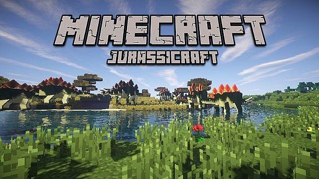 JurassiCraft Mod for MC [1 10 2/1 9 4] - Minecraft mod download