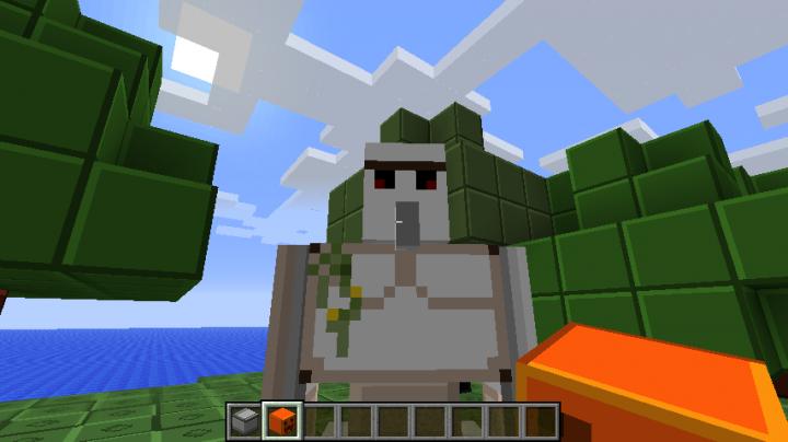 LEGO Minecraft Resource Pack For MC Minecraft Mod - Skins para minecraft 1 8 8