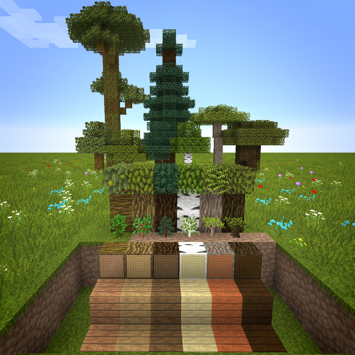 3d текстур пак minecraft 1 8