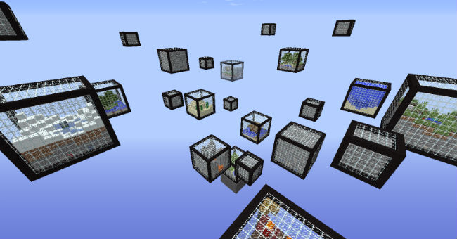 Micro Cubes Survival Map for MC [1 8 9] - Minecraft mod download