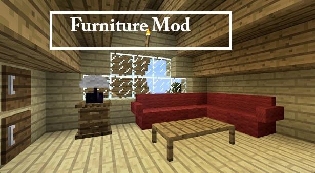 how to make furniture in minecraft mrcrayfish