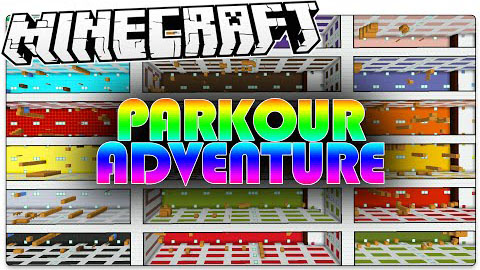 Parkour Adventure Map for MC [1.8.9] - Minecraft mod download