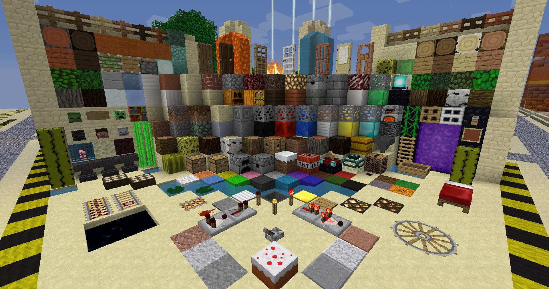 Ragecraft Faithful 64x Resource Pack for MC 1 9 4