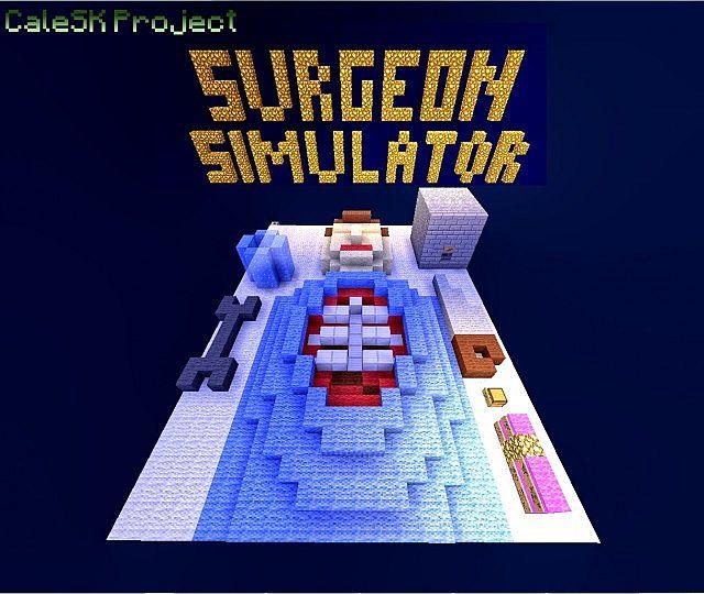 Скачать surgeon simulator для minecraft.