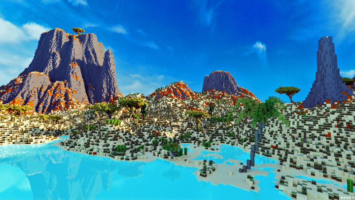The DiscWorld Map For Minecraft Survival Maps Minecraft Mod - Mapas para minecraft 1 10