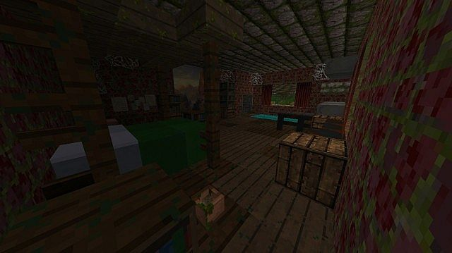 The Last of Us Adventure Game Map [1.8.9] - Minecraft mod download