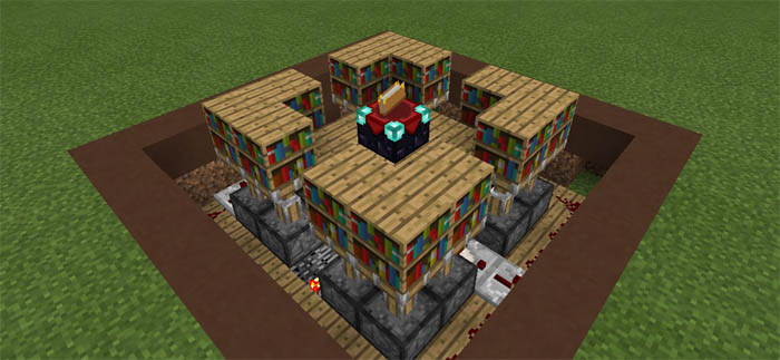 20 Clever Redstone Creations Map For Mcpe Minecraft Mod