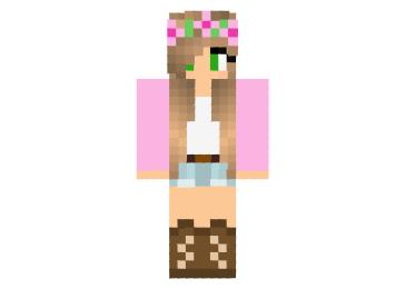 Chica Rosa Skin Minecraft Minecraft Mod - Skins para minecraft pe chicas