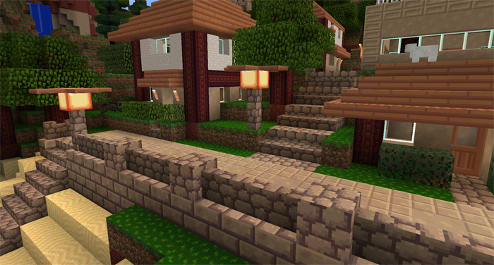 Flourish Texture Pack for MCPE - Minecraft mod download