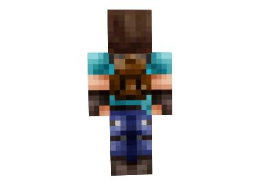 Hd Explorer Steve Skin Minecraft Minecraft Mod Download