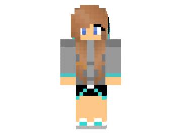 McKid Erica Skin Minecraft Minecraft Mod - Skin para minecraft pe do authenticgames