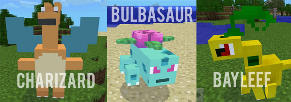 Pixelmon (Pokecube) Mod for MCPE - Minecraft mod download