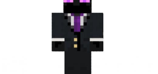 Lavender Flannel Girl Skin Minecraft - Minecraft mod