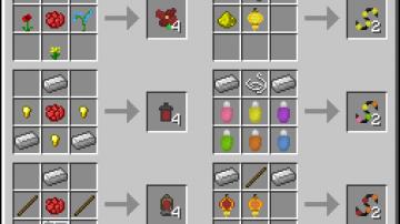how to make a flower put minecraft