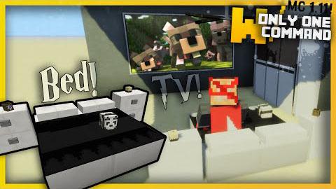 Modern Bedroom Furniture Command Block 1 11 1 10 2 Minecraft Mod Download