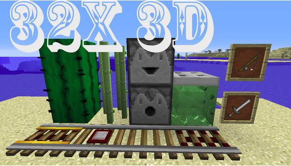 Faithful 32x 3D Add-On Resource Pack 1 9 4 - Minecraft mod download
