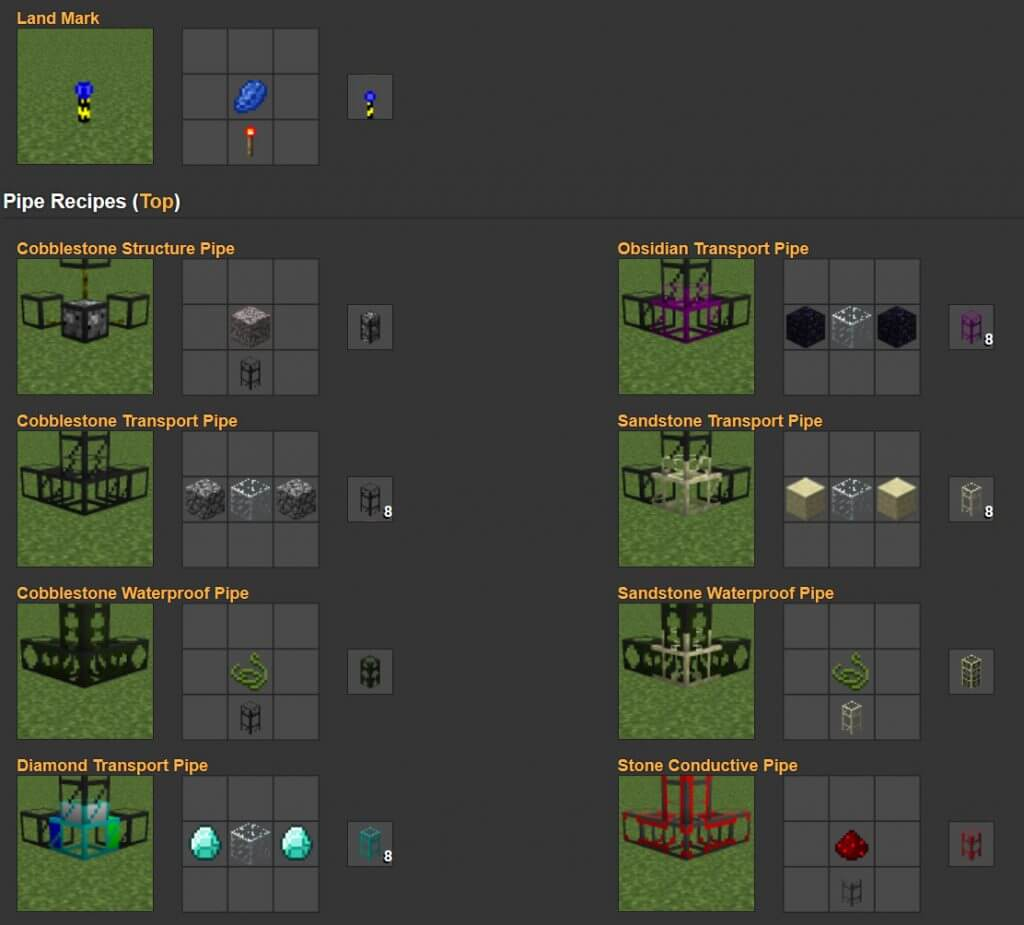 Buildcraft mod create modify structures for Crafting and building 2