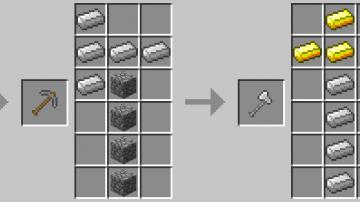 minecraft extended workbench