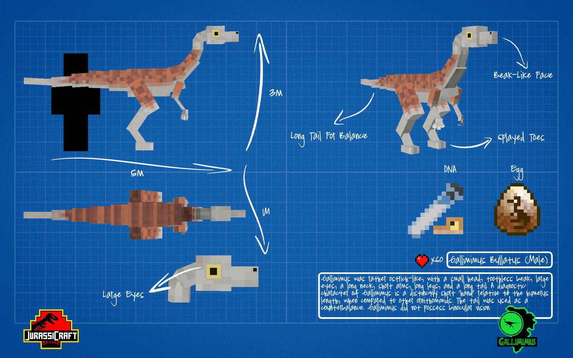 JurassiCraft Mod [1 11 2/1 10 2] – Jurassic Park - Minecraft mod